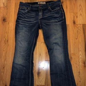 Women's BKE Jeans 34x33 1/2